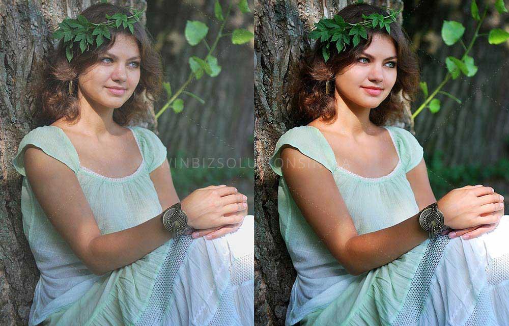 digital image retouching
