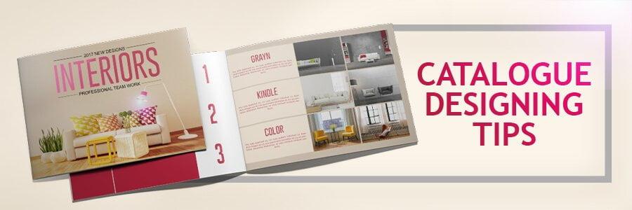 Tips for catalog design