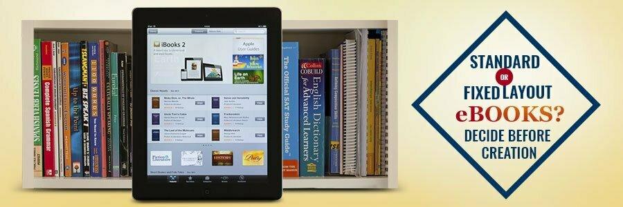 reflowable vs fixed layout eBooks