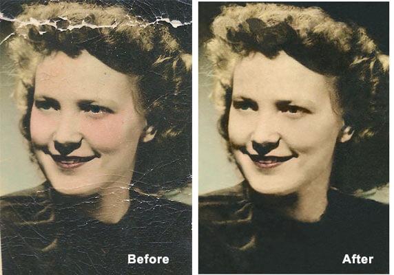 Image restoration tips and tricks