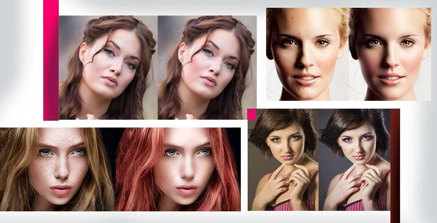 Tips for portrait retouching