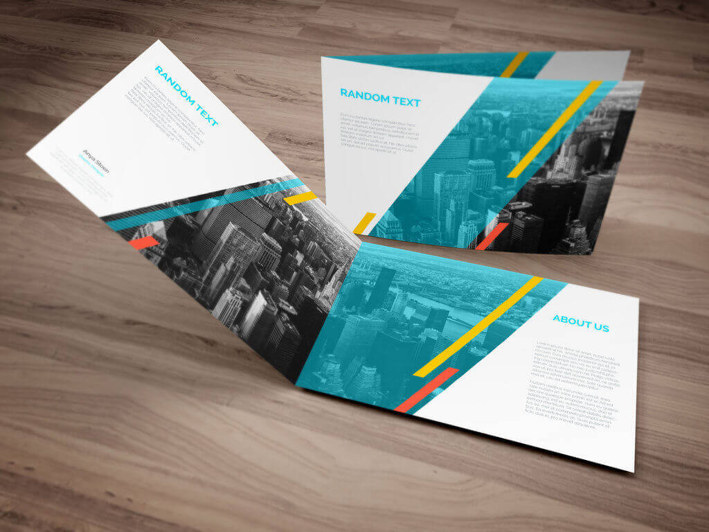 Modern brochure design ideas