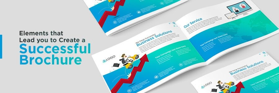 brochure graphic design elements