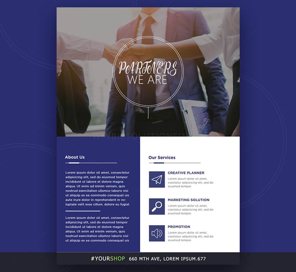 handbill design