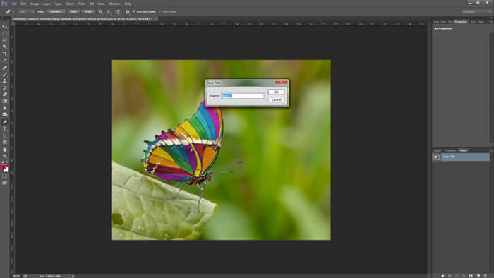 how to create Clipping path