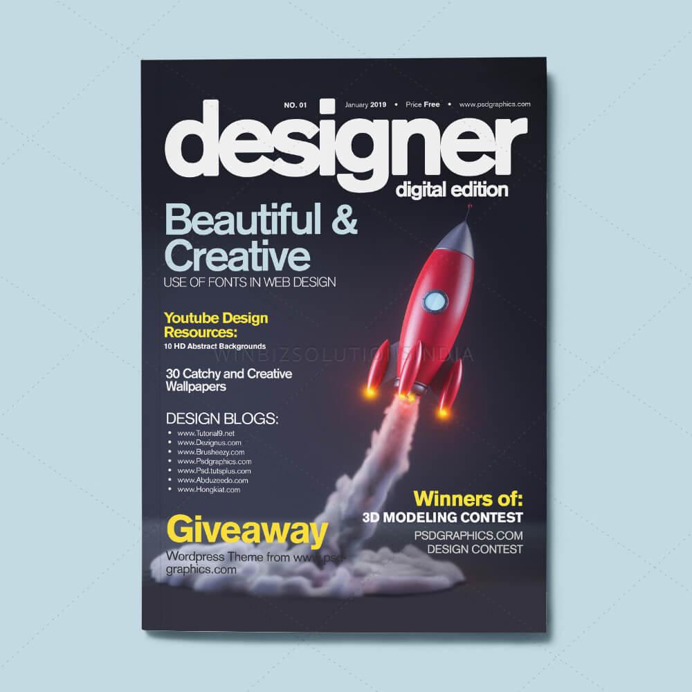 Magazine Designs Portfolio Winbizsolutionsindia