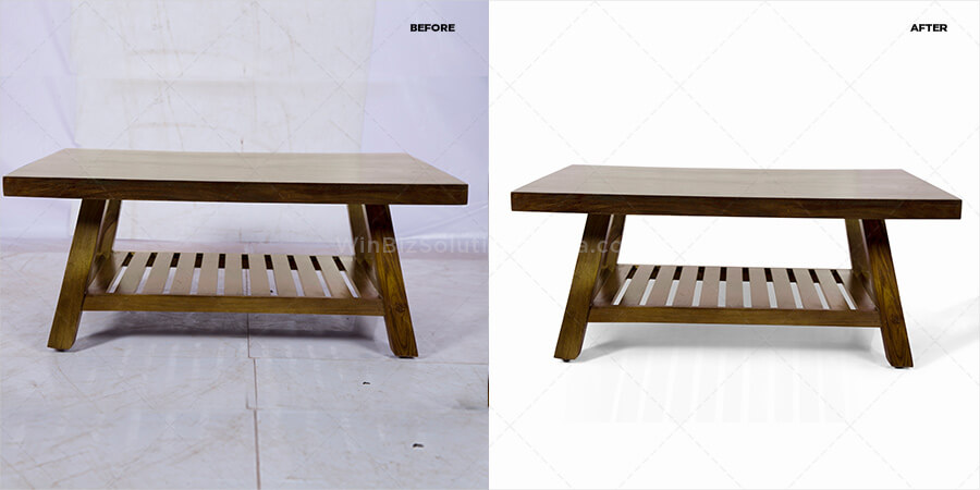 table picture retouching