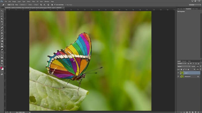 creating layer in photoshop