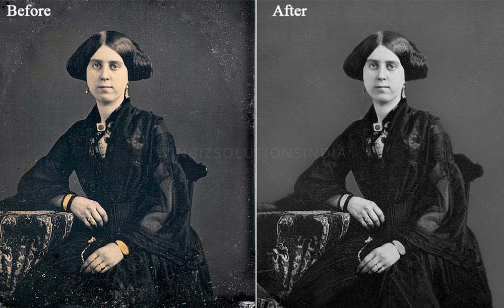 old photo color restoration