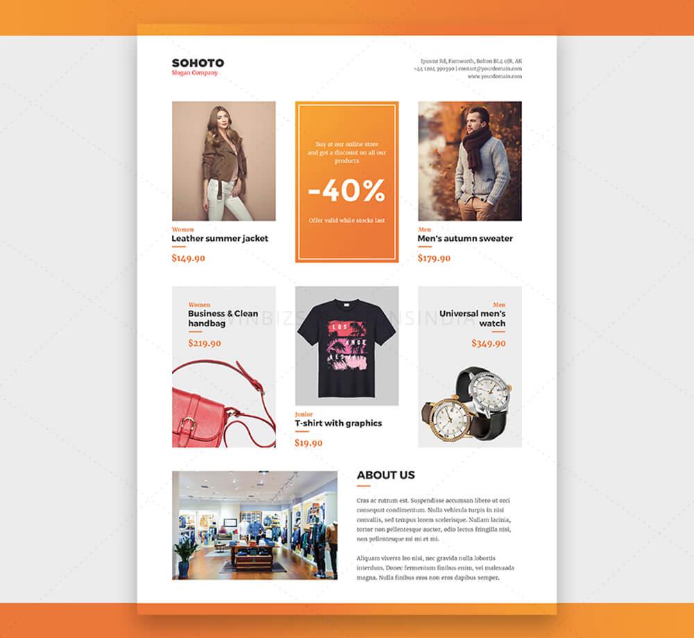 ecommerce flyers