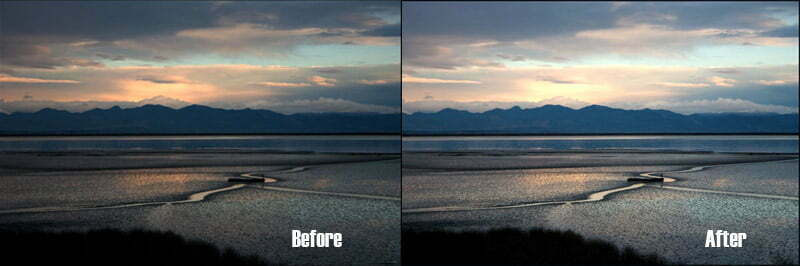 How to change sky color in lightroom