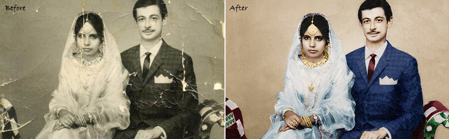 old picture restoration