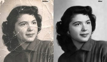 photo restoration samples