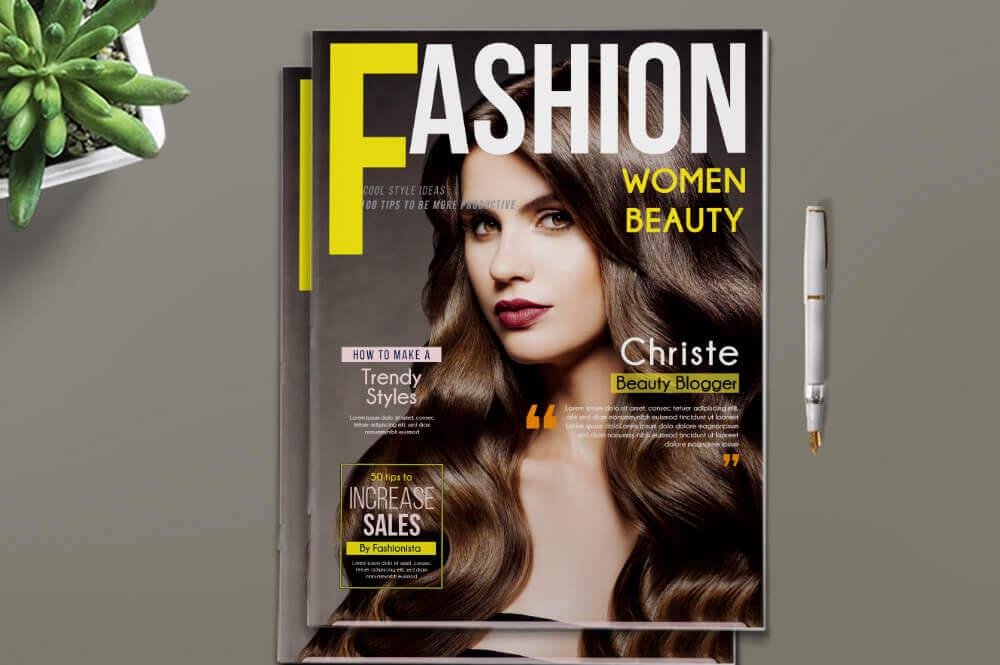 Layout for Magazine