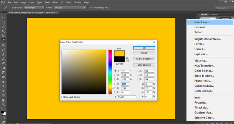 layer pulling in ps