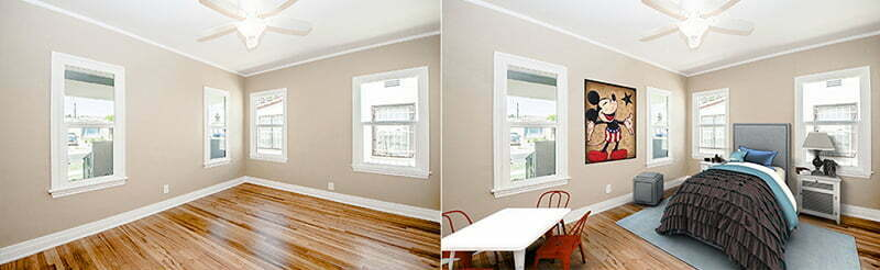 virtual staging banner